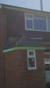 Small porch roof in Essex