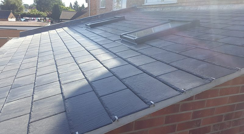 Extension Roof At Ipswich
