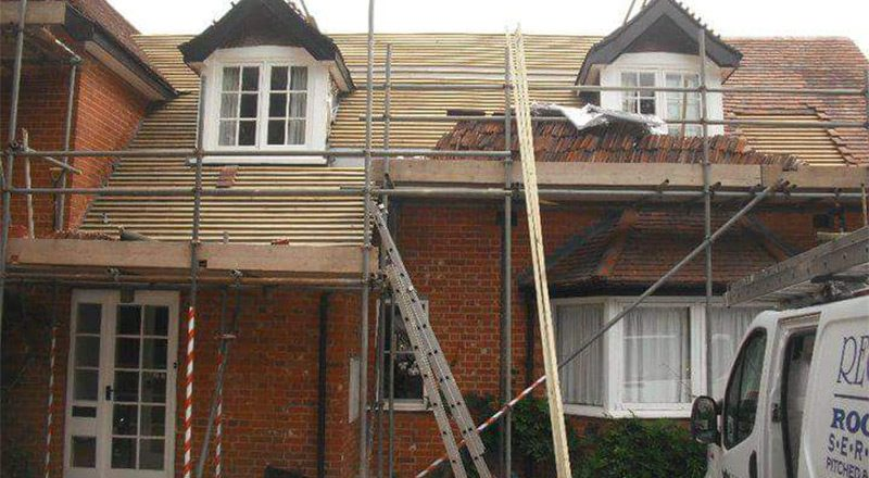 New Roof Relaid In Woodbridge, Suffolk