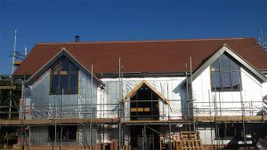 New roof at Stowmarket, Suffolk