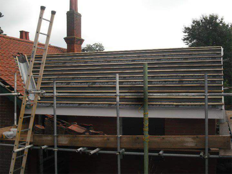 Extension Roof In Woodbridge