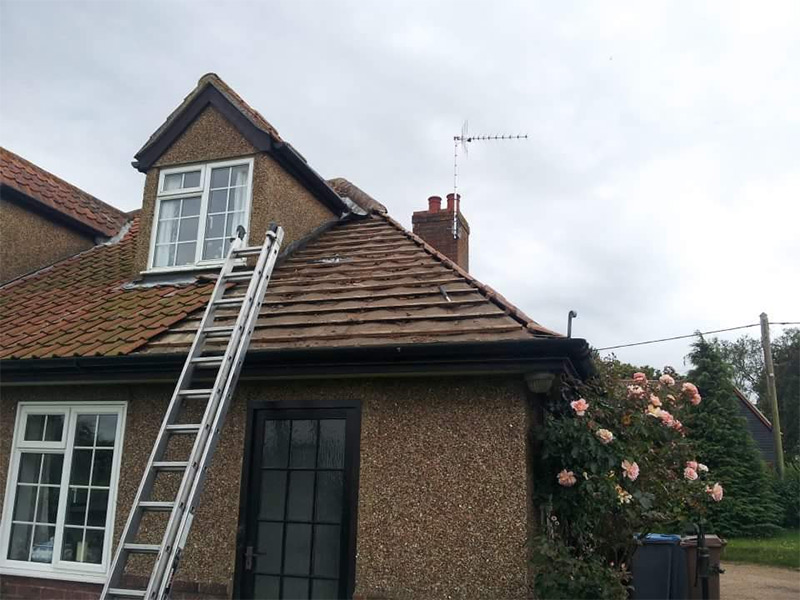 Roof Repair, Waldringfield, Suffolk