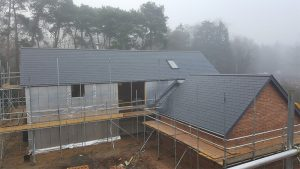 New Slate roof in Coddenham, Suffolk
